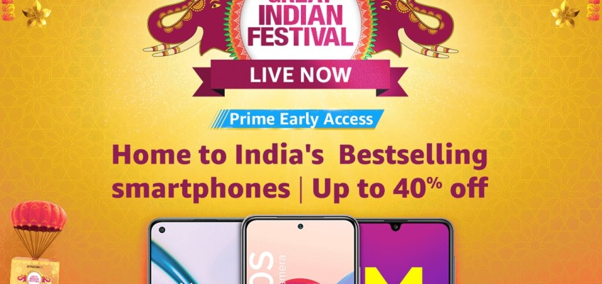 Amazon Great Indian Festival: Prime Members to Get Interest-Free EMIs, More