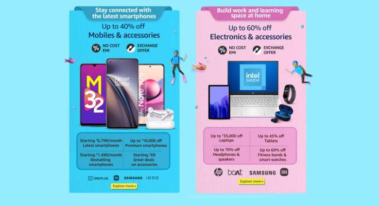 Amazon Prime Day Sale: Discounts on iPhone 11, OnePlus 9;  Up to Rs.  Discount 35,000 on laptops