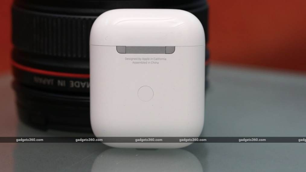 apple airpods 2 review case back Apple AirPods