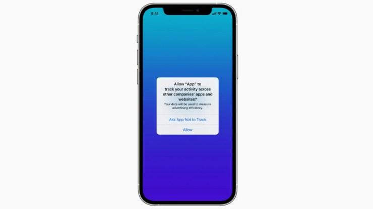 apple ios app tracking transparency image Apple  iOS