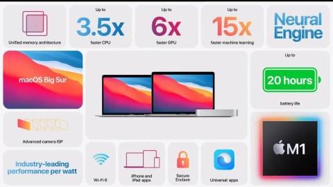 Apple M1-Based MacBook Pro, MacBook Air, Mac Mini Announced