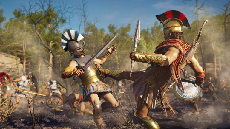 assassins creed odyssey sparta