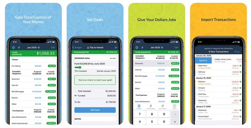 best money manager android ios YNAB sd