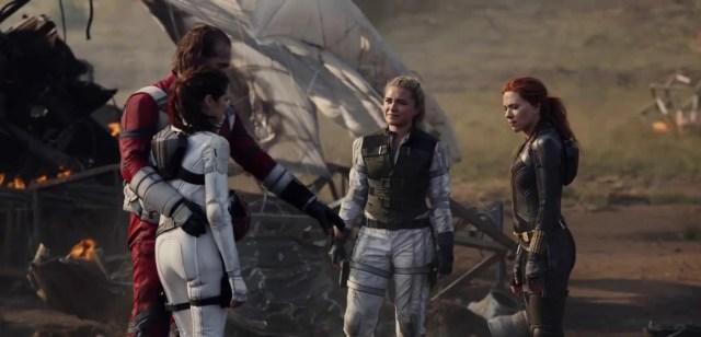 Black Widow Super Bowl Trailer Teases Scarlett Johansson's Pre-Avengers Family | Entertainment News