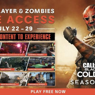 Call of Duty: Black Ops Cold War Multiplayer Will Be Free for a Limited Time