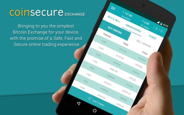 coinsecure app coinsecure