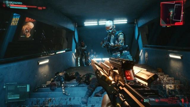 cyberpunk 2077 ps4 review combat cyberpunk 2077