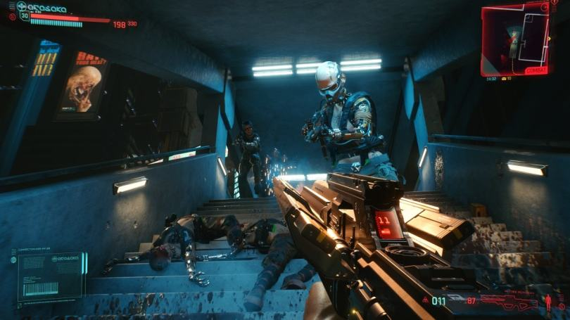 cyberpunk 2077 ps4 review combat cyberpunk 2077