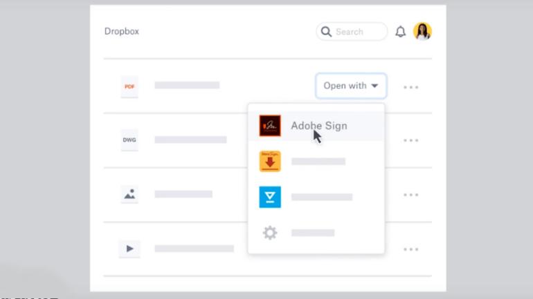 dropbox extensions screenshot Dropbox Extensions