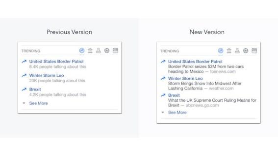 facebook trending blog Facebook