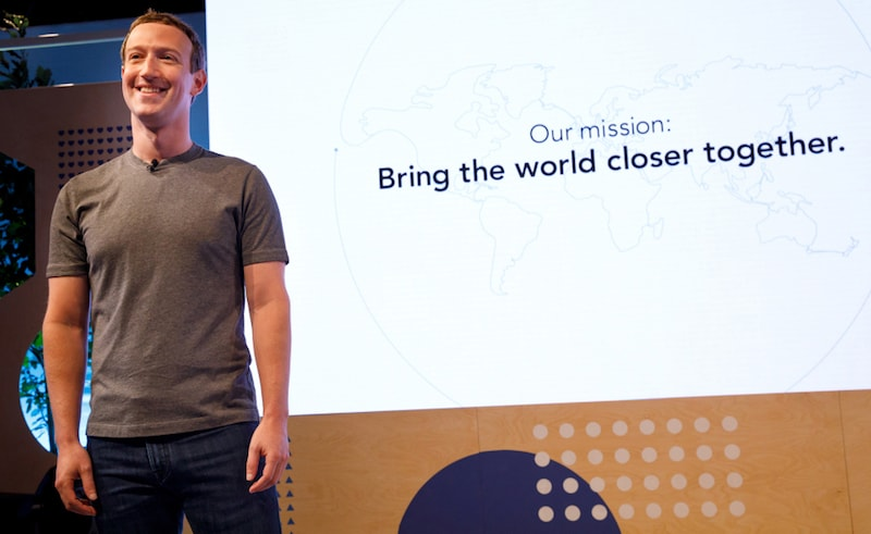 Facebook's New Mission Is to 'Bring the World Closer Together', Says Zuckerberg