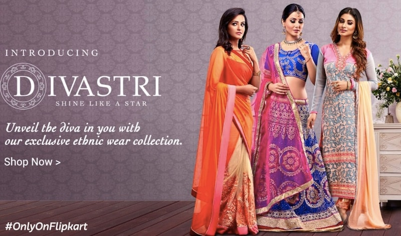 Flipkart Fashion Announces Divastri, Its First Private Label, Offering Ethnic Wear for Women
