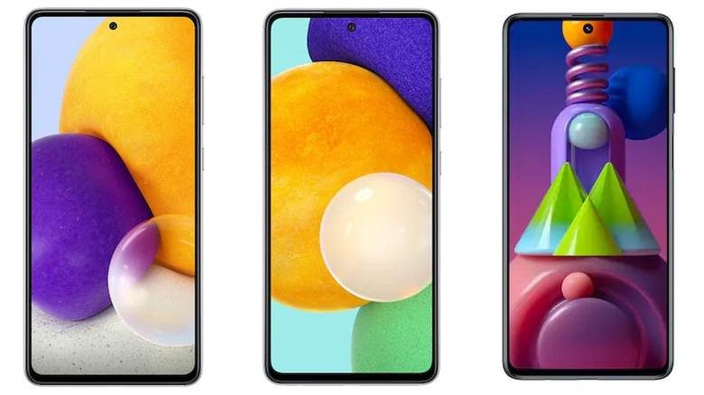 Samsung Galaxy A72, Galaxy A52 received significant camera improvements;  Galaxy M51 gets 360 ° audio: reports
