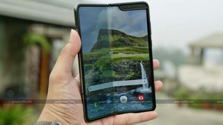 Samsung Galaxy Fold Gets Camera Improvements, Latest Security Patch: Report