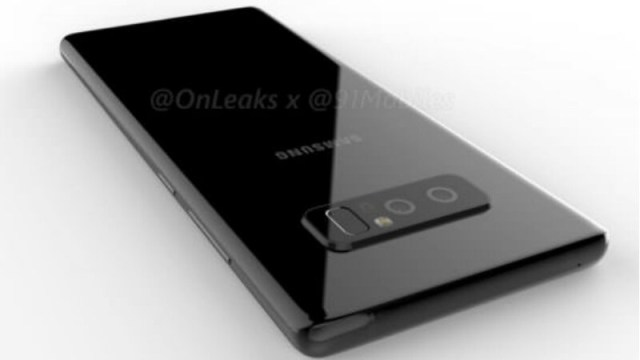 Samsung Galaxy Note 8 Specifications Leaked, Two Storage Variants Tipped