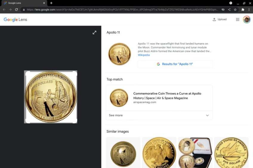 Chrome 92 for Desktop Lets You Search Images With Google Lens: Report