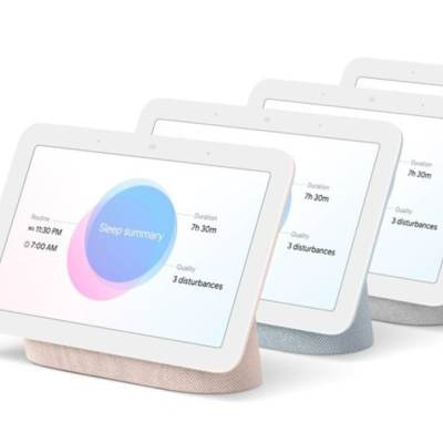 Google Nest Hub Gets a New Variant With Sleep-Tracking Features