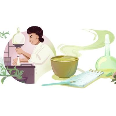 Google Doodle Marks Green Tea Researcher Michiyo Tsujimura's 133rd Birthday