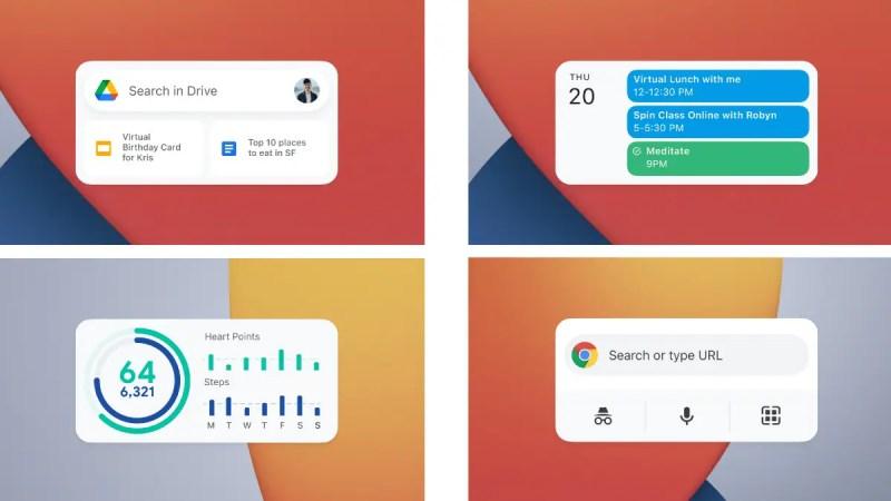 google drive calendar fit chrome widgets ios image google Google Drive  Google Calendar  Google Fit  Google Chrome