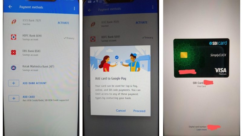 google pay card add option image android police Google Pay