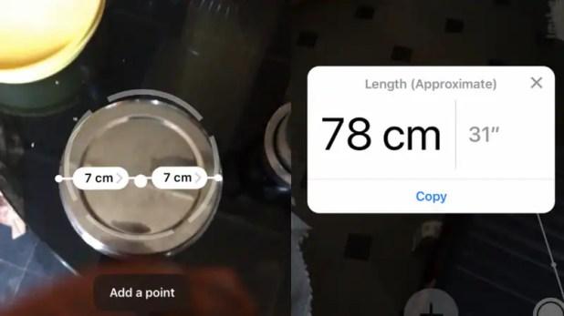 iOS 12 apple ar measure iOS 12