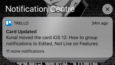 iOS 12: كيفية جعل الإخطارات تسليم إخطارات بهدوء و Ungroup 4