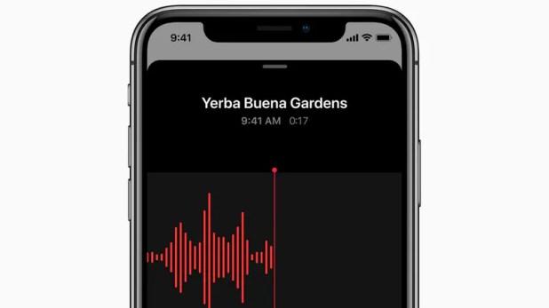 iOS 12 apple voice memos pr iOS 12