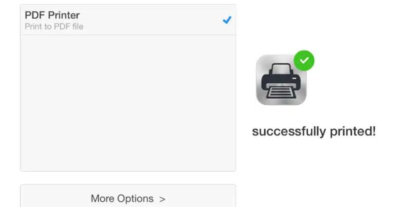 كيفية الطباعة إلى PDF على iPhone أو iPad أو iPod touch 1