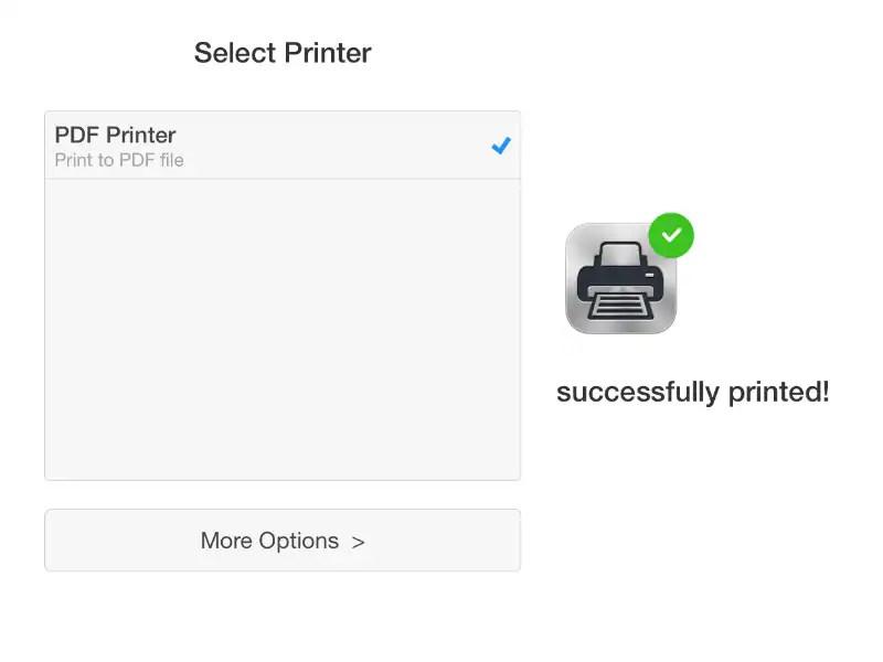 كيفية الطباعة إلى PDF على iPhone أو iPad أو iPod touch