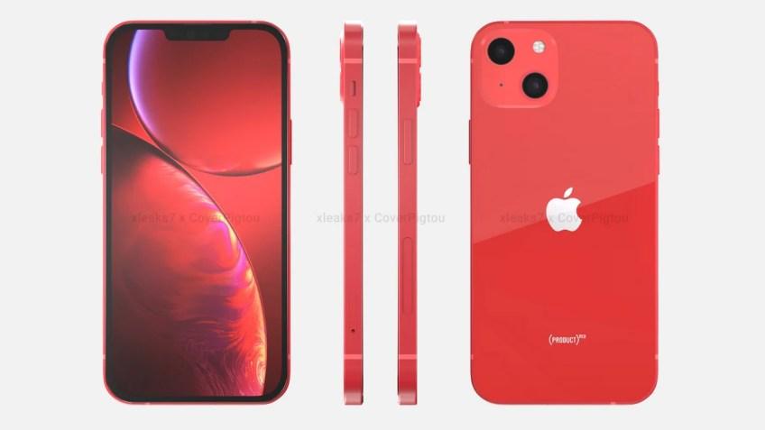 iPhone 13, iPhone 13 Pro Max, iPhone 13 mini Design Leaked
