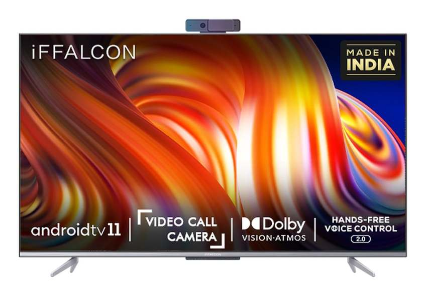 iFFalcon K72 55-inch 4K QLED Android TV With Video Calling Debuts in India