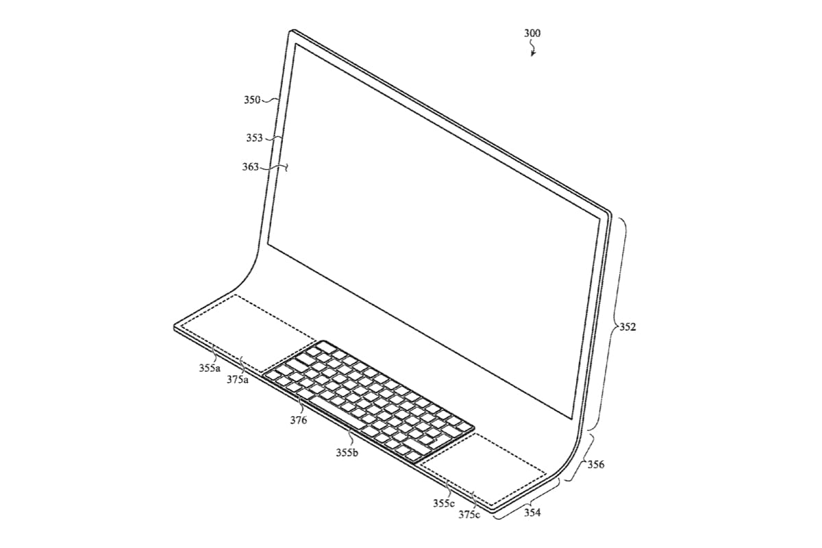 Apple Imagines an iMac Built Using Single Piece of Glass