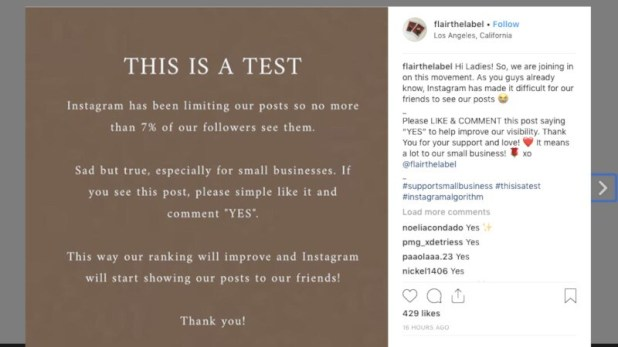 Instagram Denies Limiting the Visibility of Posts on Its Platform