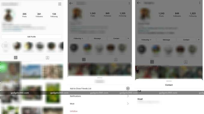 Instagram Rolling Out New UI, Making It Easier to Unfollow Users, Contact Businesses