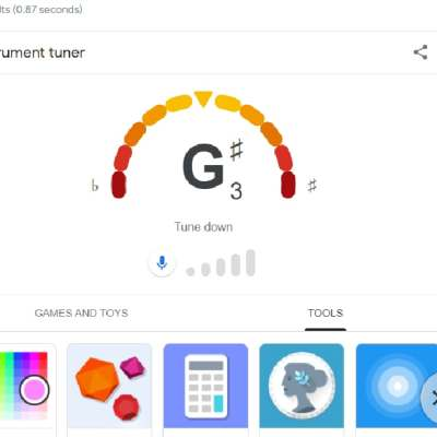 You Can Now Tune Your Guitar With a Simple Google Search