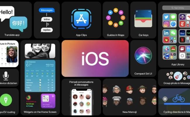 Apple To Release Ios 14 Ipados 14 Watchos 14 Tvos 14