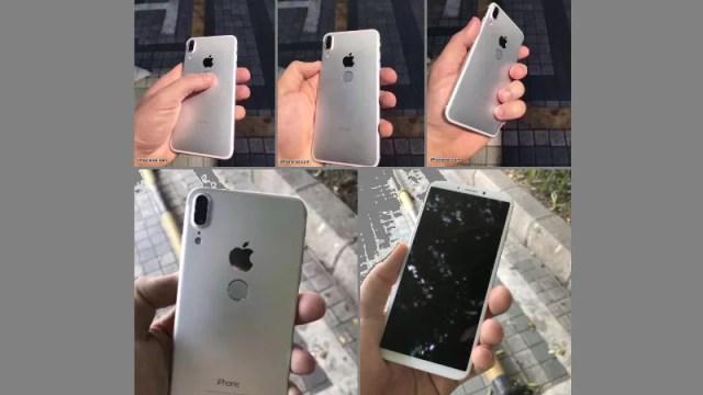 iPhone 8 Render Leak Tips Rear Fingerprint Scanner, Bezel-Less Display