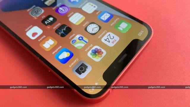iphone 12 mini notch  ndtv iphone