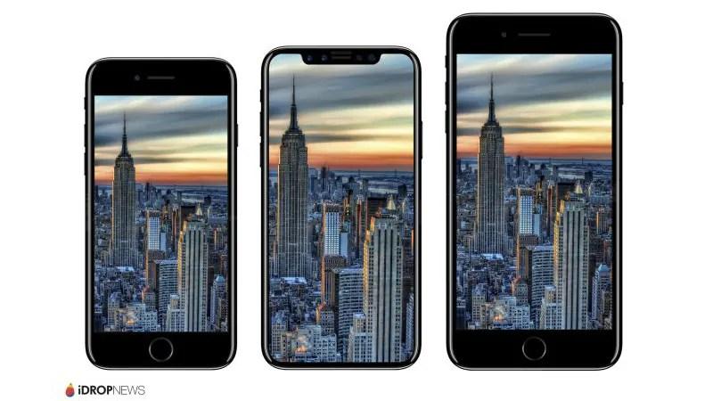 iPhone 8 Dimensions, Renders Leaked; LG Reportedly Eyeing OLED Display Orders Next Year