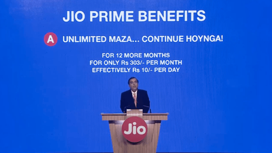 Reliance Jio Prime Subscription Deadline to Be Extended by a Month?