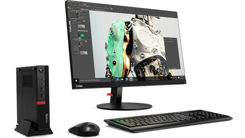 Lenovo Launches ThinkStation P320 Tiny Workstation That's as Light as MacBook Air
