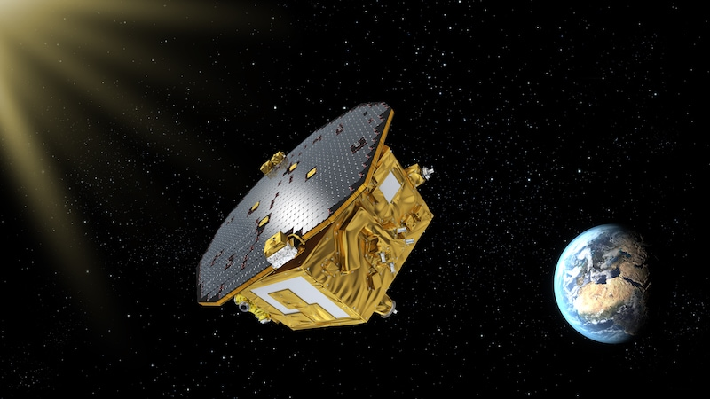 NASA to Support ESA's Gravitational Wave Space Mission