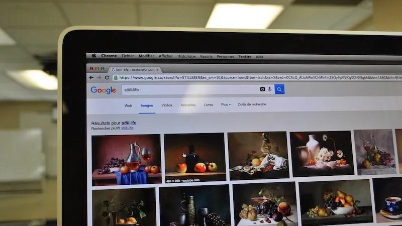 كيفية البحث بالصور على جوجل