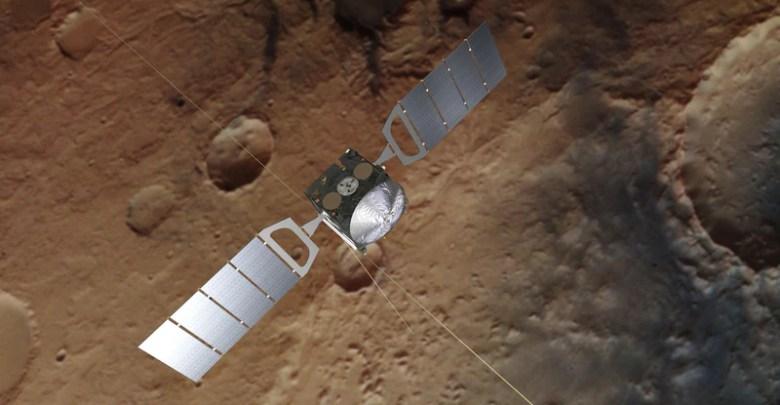 يرسل ESA & # 039؛ s Mars Express صورًا جديدة لمناظر المريخ 1