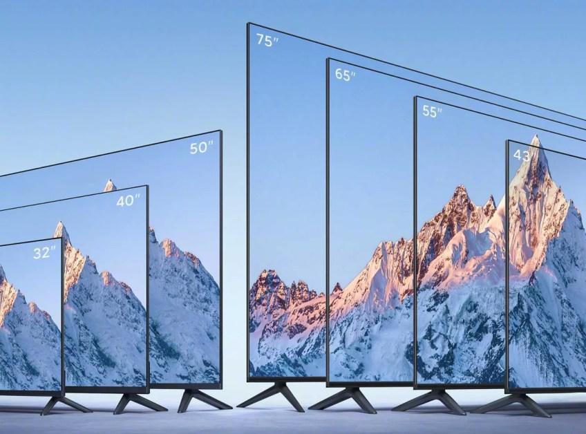 Mi TV EA 2022 Range With Metal Unibody Design Launched