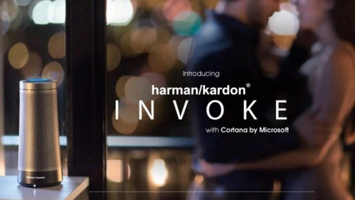 Harman Kardon's Cortana-Powered 'Invoke' Speaker Revealed on Company Site