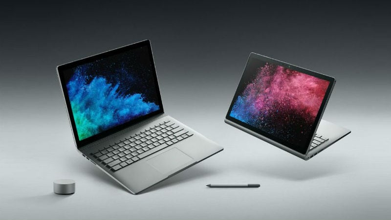 Image result for Microsoft Surface Book 2 and Surface Laptop Launched in India, Prices Start From Rs. 86,999