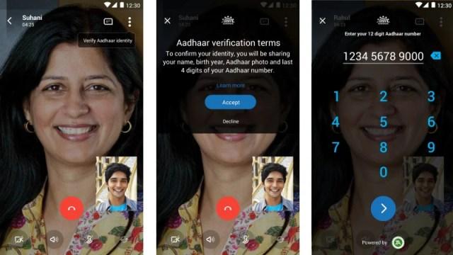 Skype Lite Gets Aadhaar Integration, Letting Users Verify Identity on Video Calls