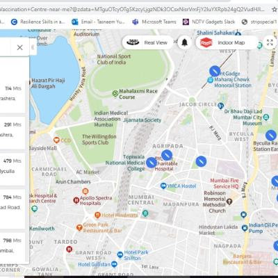 MapmyIndia Rolls Out COVID-19 Vaccination Centre Search Feature in India