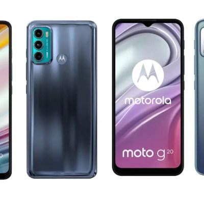 Moto G60, Moto G20 Design, Specifications Leaked